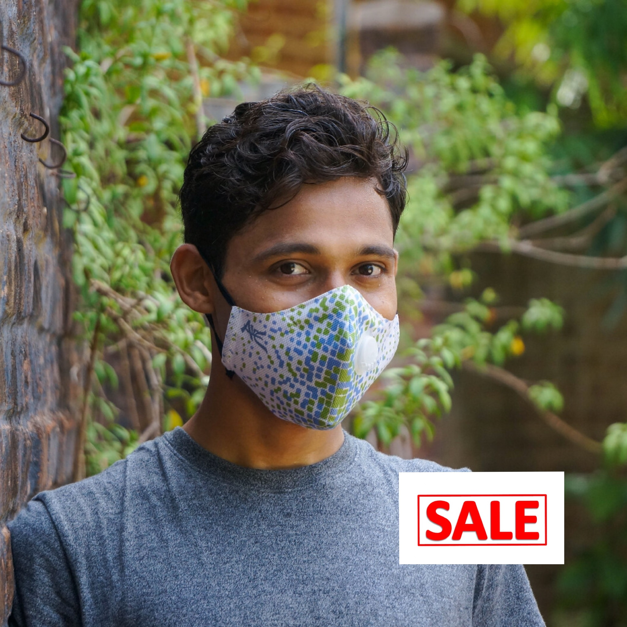 promotion poly mask with exhalation valve