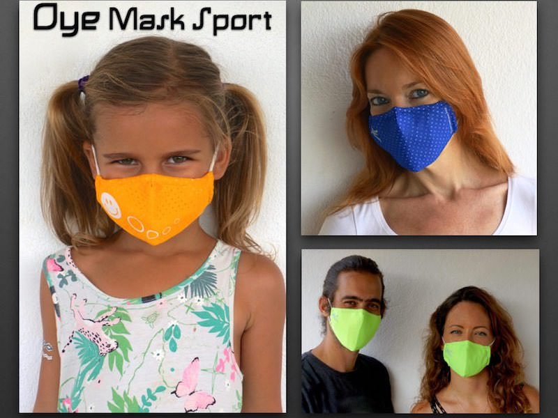 Oye Mask Sport collection Anti pollution Mask