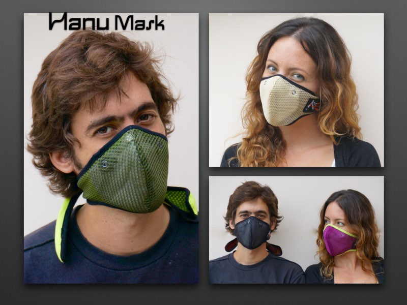 Anti pollution Hanu Mask models Gallery