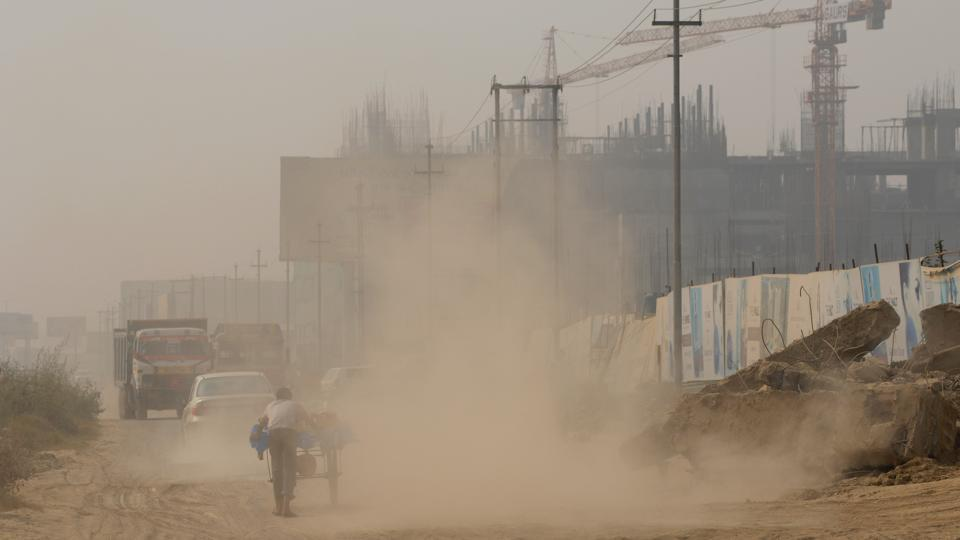 Dust pollution in India